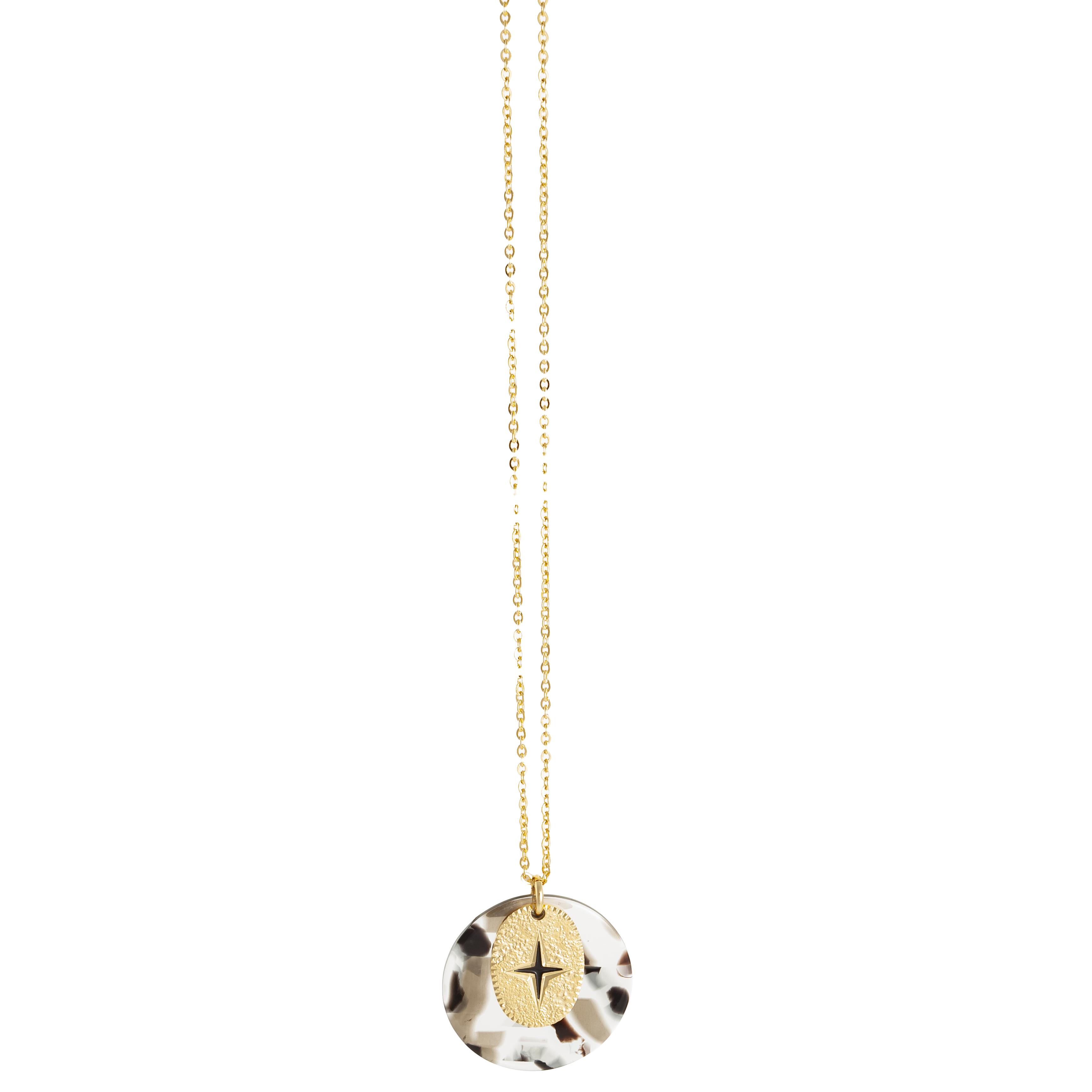 "Halskette ""Sautoir Chaine Fine Acetate Coloree AA Eclat"""