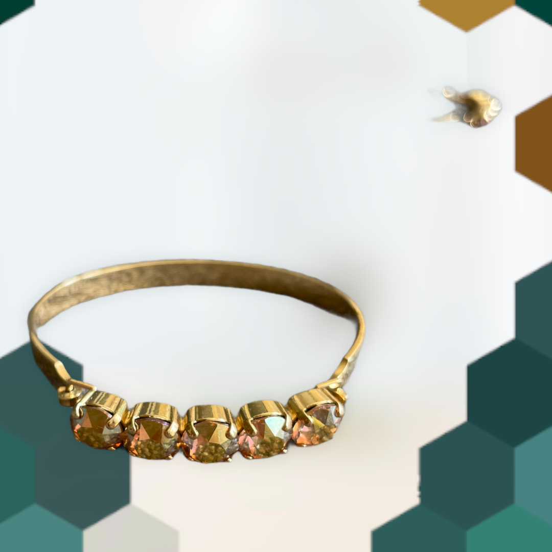 "Armband ""Grenada"" - gold/Champagne"