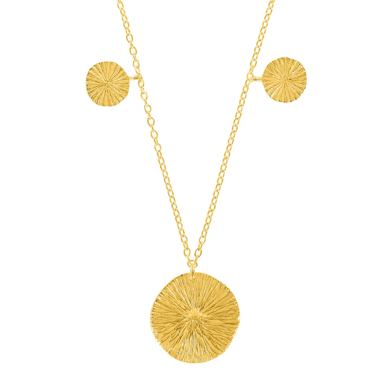 "Halskette ""Rising Sun"" - gold"