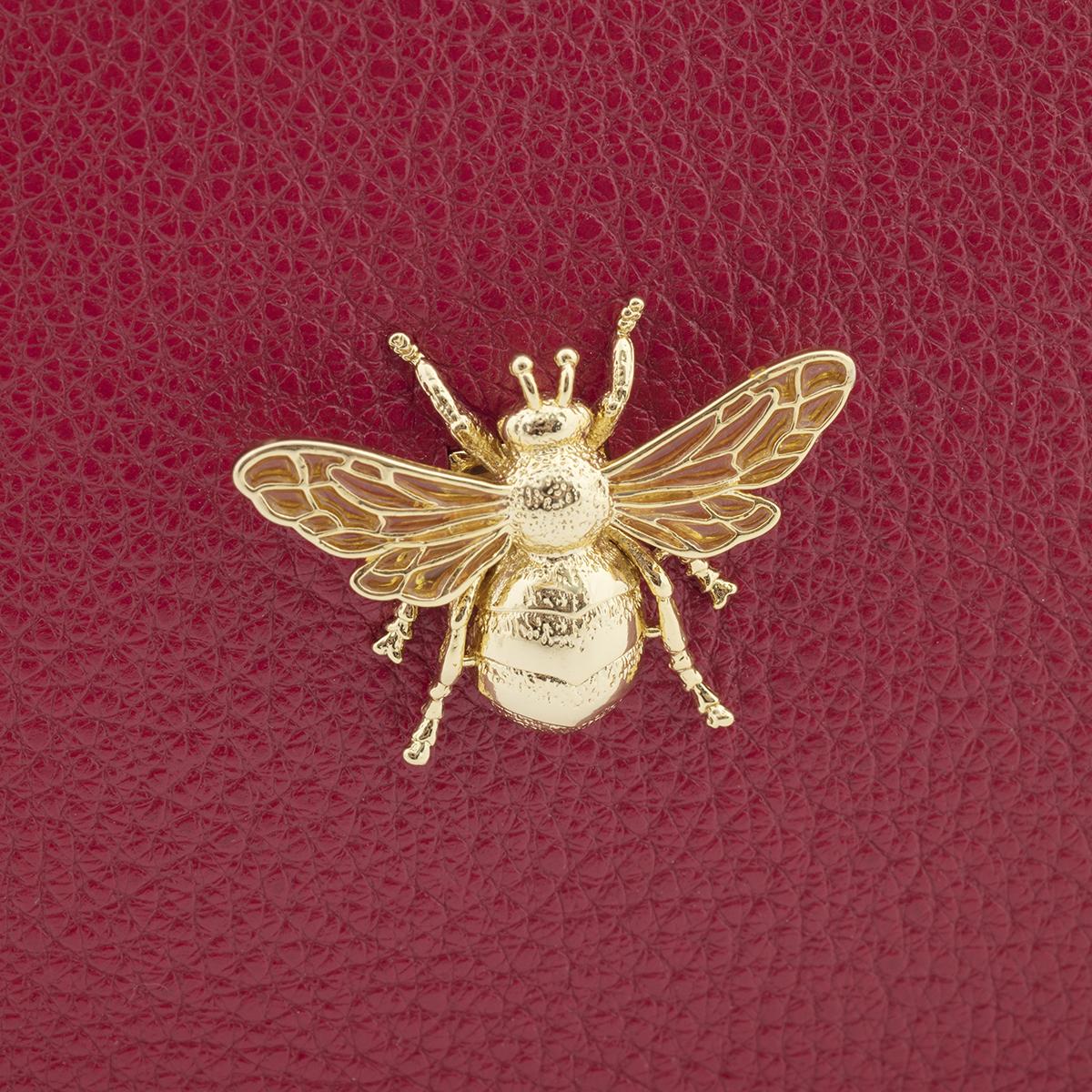 """Lederhandtasche """"Queen Bee"""" - rot"""
