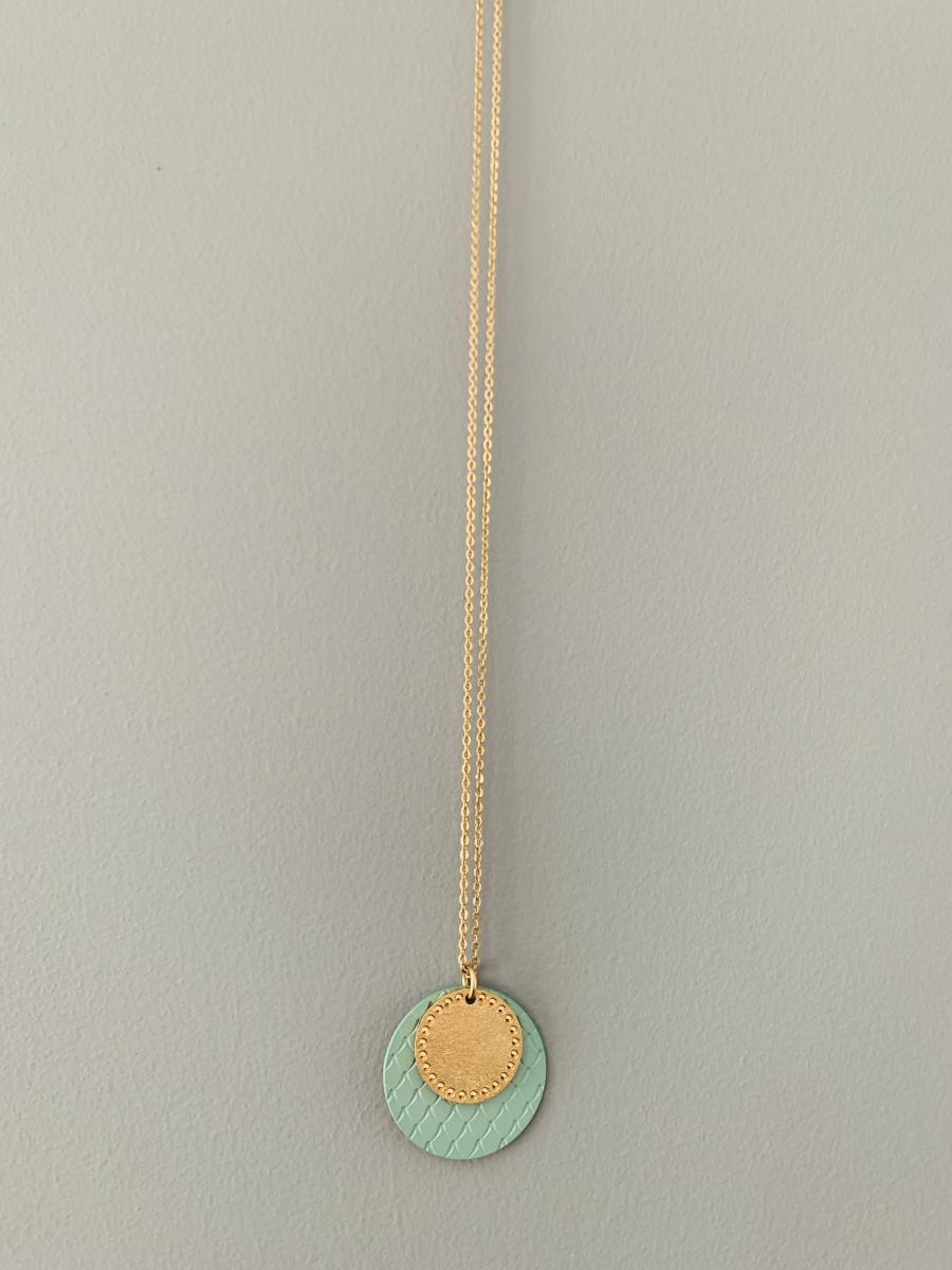 """Halskette """"Sautoir colors lune"""""""