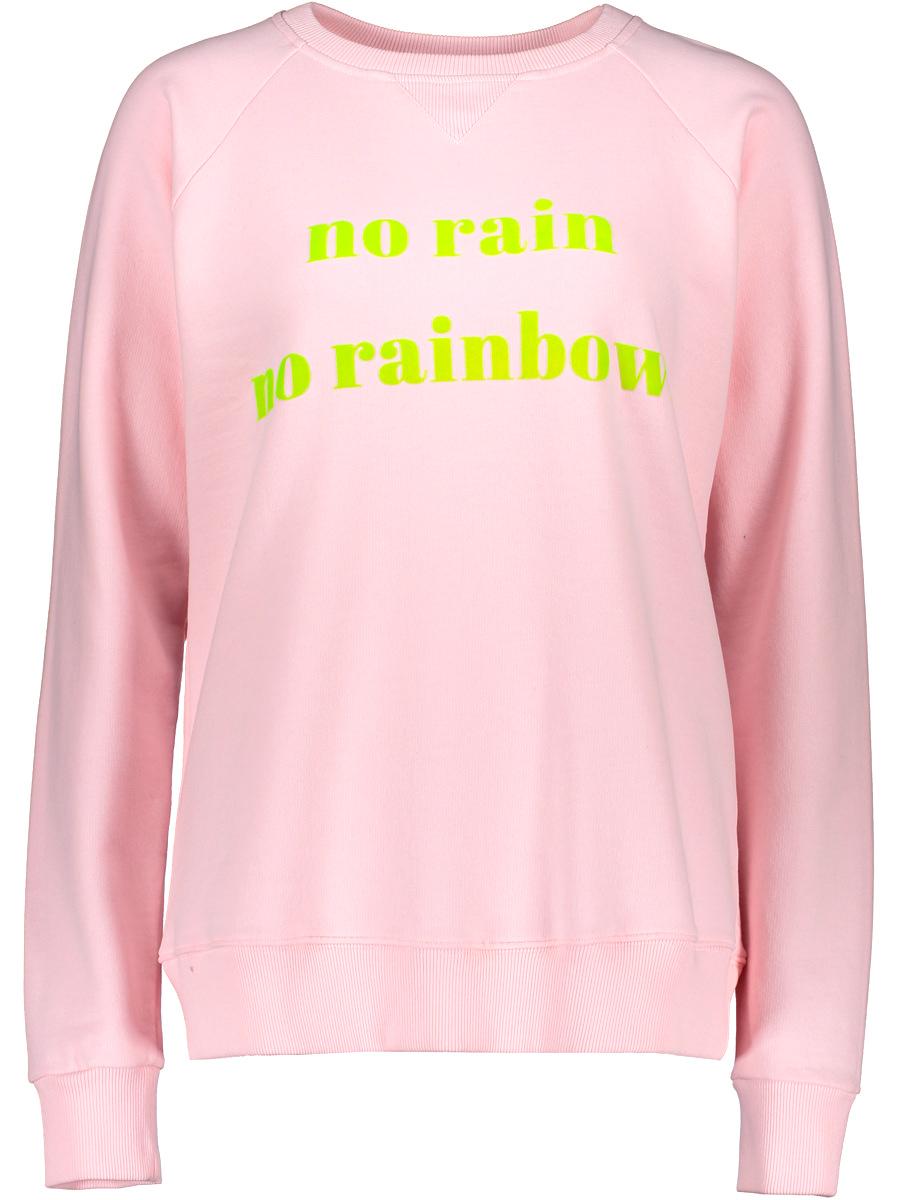 """Another Brand Sweatshirt """"no rain no rainbow"""" - Größe M"""