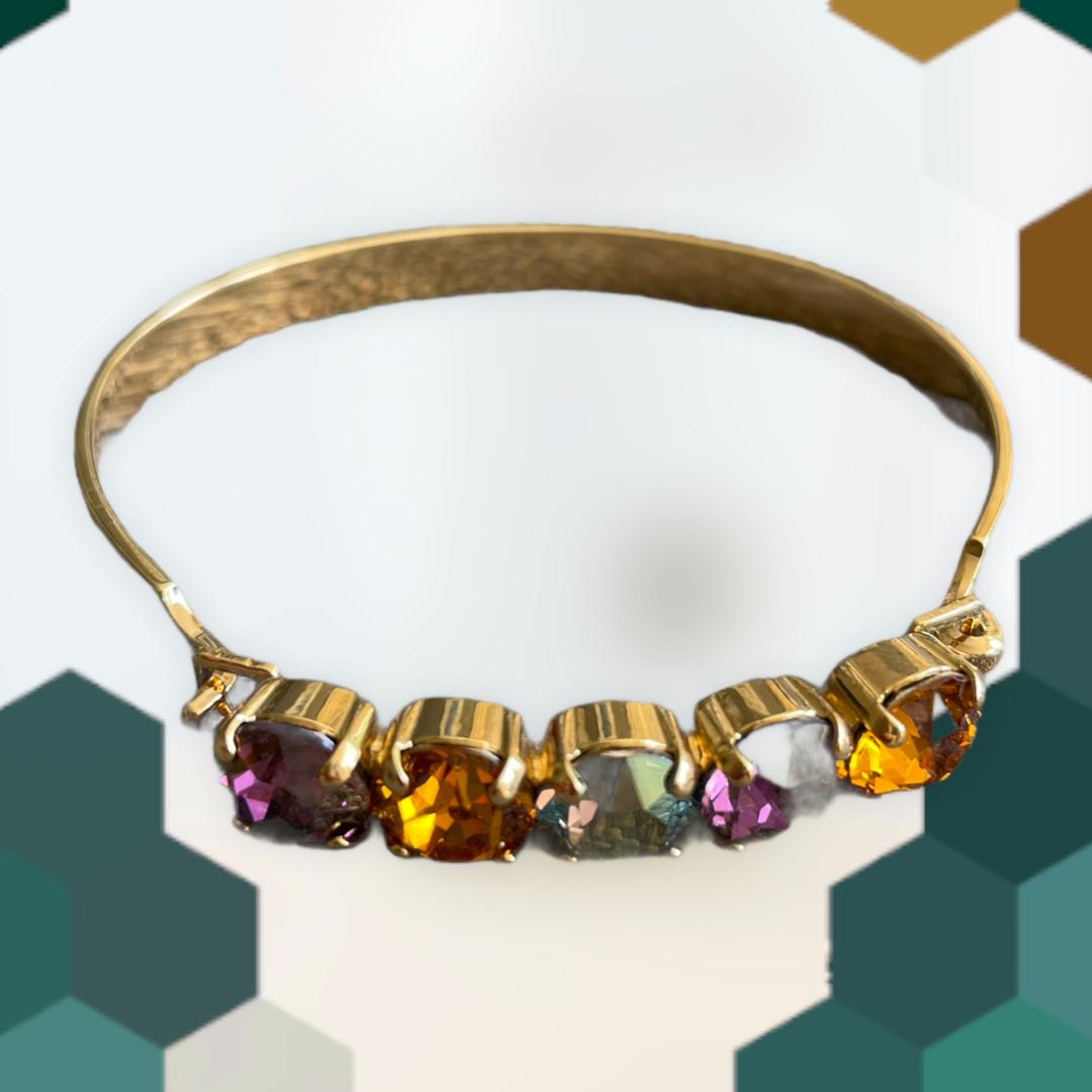 "Armband ""Grenada"" - gold/multicolor"