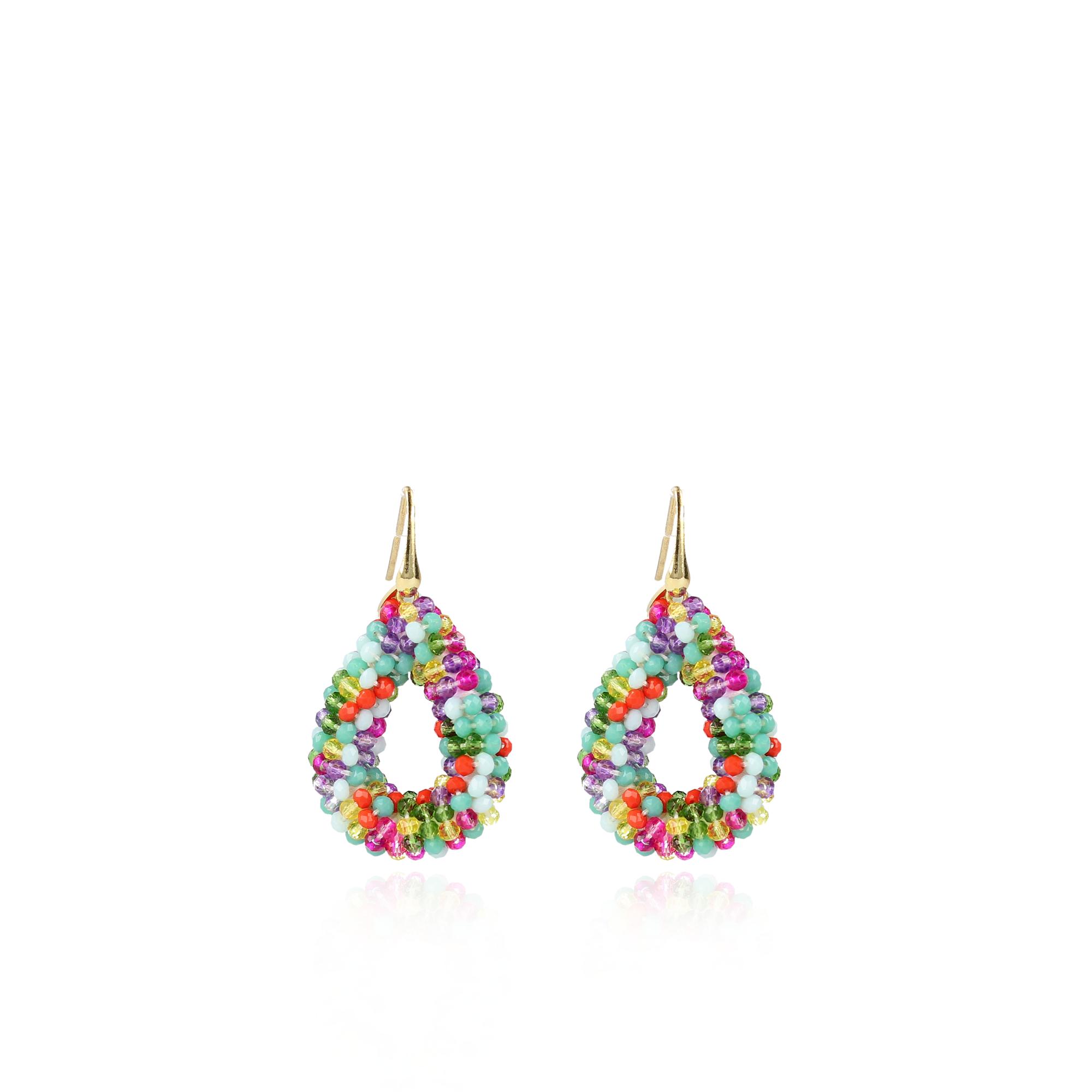 "Ohrhänger ""Glassberry Drop S"" - multicolor"