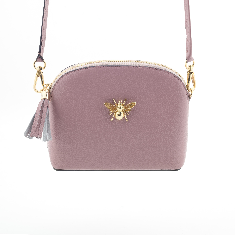 """Lederhandtasche """"Queen Bee"""" - rosa"""