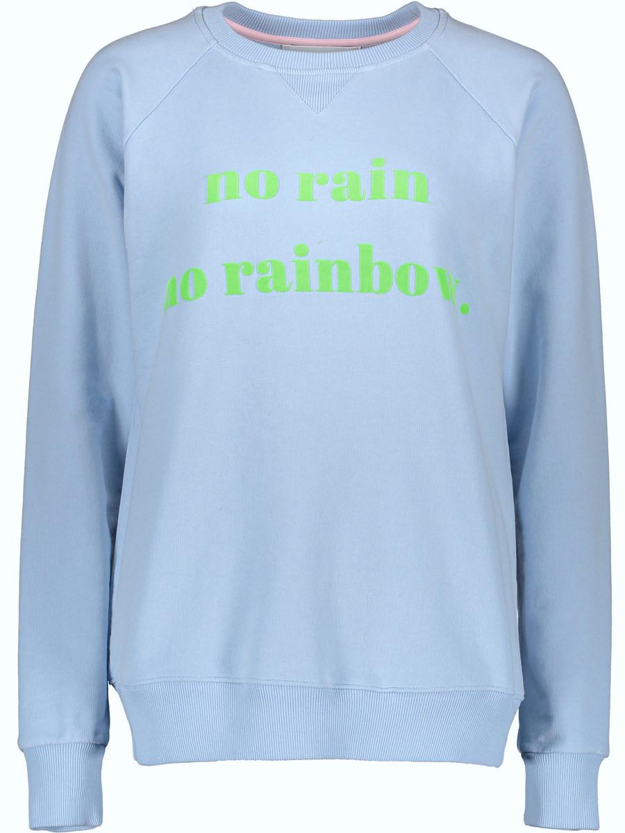 """Another Brand Sweatshirt """"no rain no rainbow"""" - Größe L"""