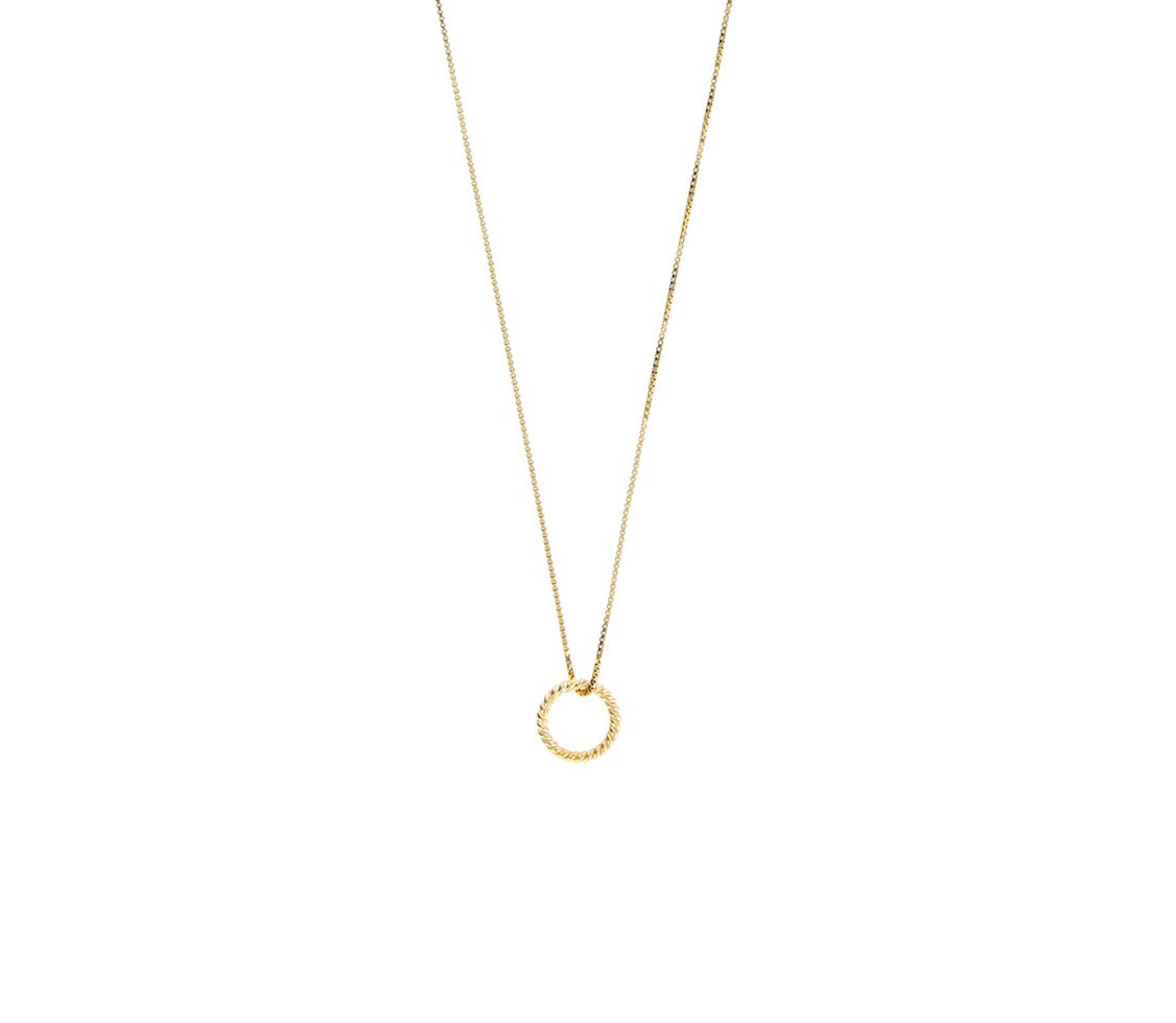 """Halskette """"Ring"""" - gold"""